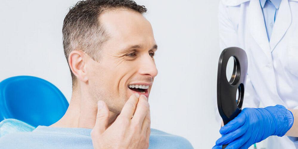 примерка зубного протеза