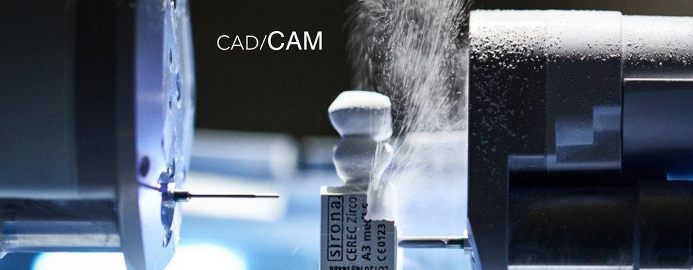 как производятся коронки cad cam