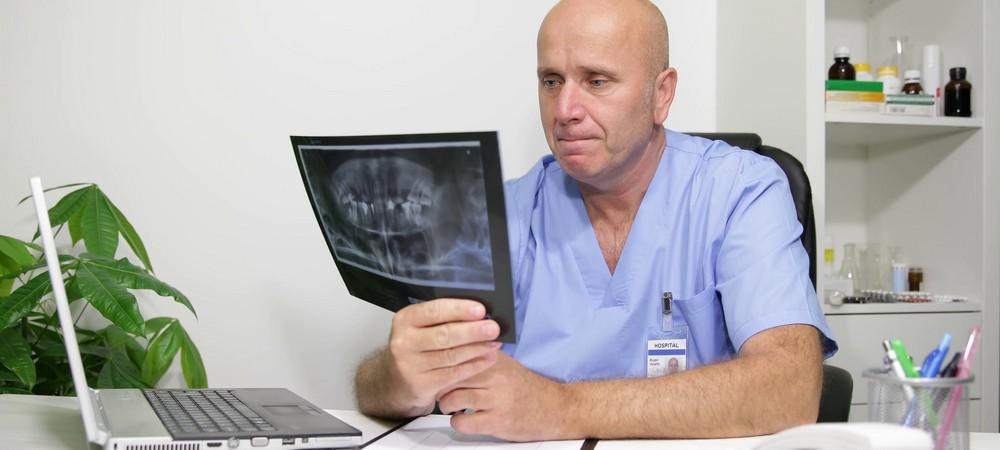 проведение рентгена зубов перед протезированием